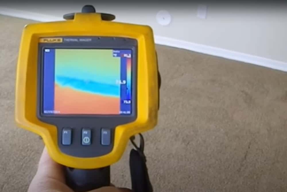 Photo of thermal imaging scanner